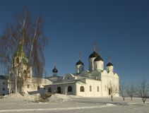 Russia. Murom. Spaso-preobrazhenskiy cathedral Royalty Free Stock Images