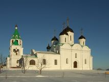 Russia. Murom. Spaso-preobrazhenskiy cathedral Royalty Free Stock Photography