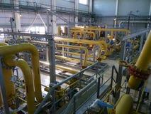 RUSSIA, NADYM - JUNE 8, 2011: Equipment of corporation GAZPROM i Royalty Free Stock Photo