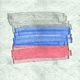 Russia. National flag of Russia Royalty Free Stock Image
