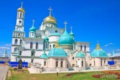 Russia. New Jerusalem monastery, Istra Stock Photos