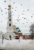 Russia. Nikolo - Ugreshsky monastery. Royalty Free Stock Photo