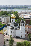 RUSSIA, NIZHNY NOVGOROD. Church of Our Lady of Kazan Royalty Free Stock Photo