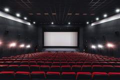 Free Russia, Nizhny Novgorod - May 23, 2014: Mir Cinema. Empty Red Cinema Hall Seats, Comfortable And Soft Chairs Royalty Free Stock Photography - 136466527