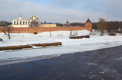 Russia.Novgorod the Great. Kremlin Royalty Free Stock Images