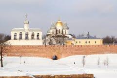 Russia.Novgorod the Great. Kremlin Royalty Free Stock Photography
