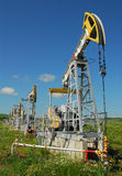 Russia.Oil production on the oil field Stock Photos