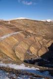 Russia. Old derelict uranium quarry Royalty Free Stock Image