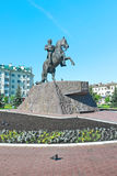 Russia, Orel. Monument to General Yermolov. Stock Photography
