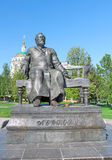 Russia, Orel. Monument to the writer Nikolai Leskov Stock Photos