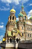 Russia Orthodox Church Spas na Krovi, St. Petersburg Royalty Free Stock Photo