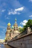 Russia Orthodox Church Spas na Krovi, St. Petersburg Stock Photos