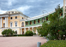 Russia. Palace in Pavlovsk,  St.Petersburg, at summer Royalty Free Stock Photography