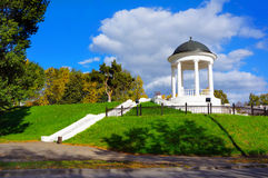 Russia, Pavilion in Kostroma city Royalty Free Stock Images
