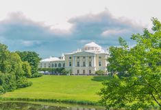 Russia, Pavlovsk Park, July 22, 2017 the Museum-reserve Pavlovsk Stock Photography