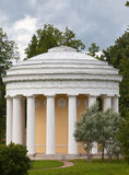 Russia. Pavlovsk. Pavilion Friendship Temple Stock Photography