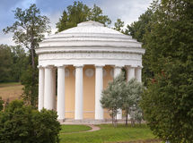 Russia. Pavlovsk. Pavilion Friendship Temple. Stock Image
