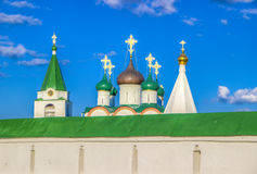 Russia Pechersky ascension monastery in Nizhny Novgorod Stock Image