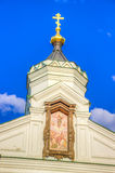 Russia Pechersky ascension monastery in Nizhny Novgorod Royalty Free Stock Photos