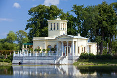 Russia, Peterhof.Olga s Pavilion Royalty Free Stock Images