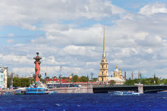 Russia. Petersburg.Cityscape in a sunny day Stock Photo