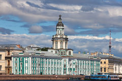 Russia. Petersburg. Kunstkamera Museum. Royalty Free Stock Image