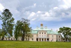 Russia. Petersburg. Oranienbaum. Big Menshikovsky palace Stock Photos