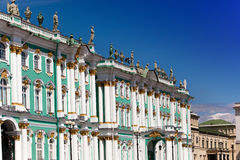 Russia. Petersburg. A winter Palace. Royalty Free Stock Photography
