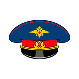 Russia police cap Royalty Free Stock Photography