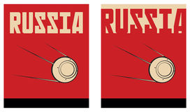 Russia poster Royalty Free Stock Image