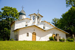 Russia. Pskov. Church Royalty Free Stock Photos