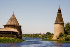 Russia. Pskov Kremlin (Krom) royalty free stock image