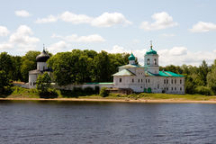 Russia. Pskov. Monastery Royalty Free Stock Images