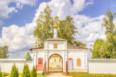 Russia Resurrection monastery Uglich Stock Photography