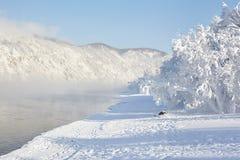 River Yenisei Royalty Free Stock Image