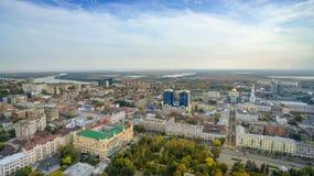 Russia. Rostov-on-Don.  Gorky Park. Royalty Free Stock Photography