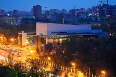 Russia. Rostov-on-Don. Theatre Square. Gorky theatre. Stock Image