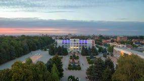 Russia. Rostov region. Bataysk. The building of the city adminis Stock Photos