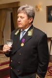 Russia's ambassador to Cape Verde A.Karpushin Royalty Free Stock Photos