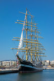 Russia's barque Kruzenshtern Royalty Free Stock Photos