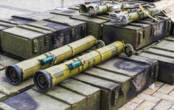 Russia's flame thrower Royalty Free Stock Photos