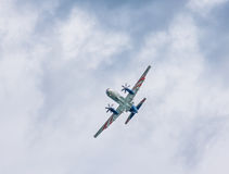 Russia`s Ilyushin Il-114 turboprop airliner Royalty Free Stock Photo