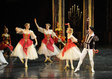 Russia's traditional ethnic costumes-ballet Swan Lake Royalty Free Stock Photo