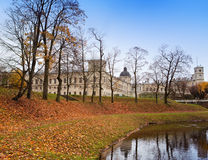 Russia. Saint-Petersburg. Gatchina. Autumn in palace park Stock Photo