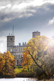 Russia. Saint-Petersburg. Gatchina. Autumn in palace park Stock Image