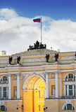 Russia, Saint Petersburg, palace square, Royalty Free Stock Photo