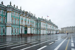 Russia, Saint-Petersburg, Palace Square. The Hermitage Royalty Free Stock Image