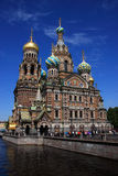 Russia Saint Petersburg, Resurrection of Christ Royalty Free Stock Photography