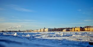 Russia, Saint-Petersburg. View of the city. Russia, Saint-Petersburg. View of the daylight city Stock Images