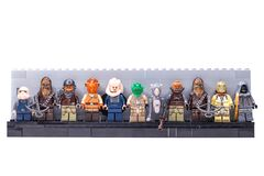 Free RUSSIA, SAMARA, FEBRUARY 15, 2020 - Lego Minifigures. Star Wars Characters, Inhabitants Of The Planet Tatooine Stock Photo - 173175560